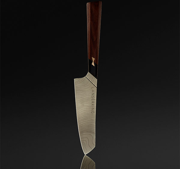 Savernake knives by LANSERRING